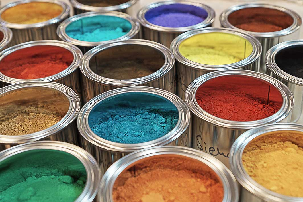 Earth And Mineral Pigments Kreidezeit Naturfarben Gmbh