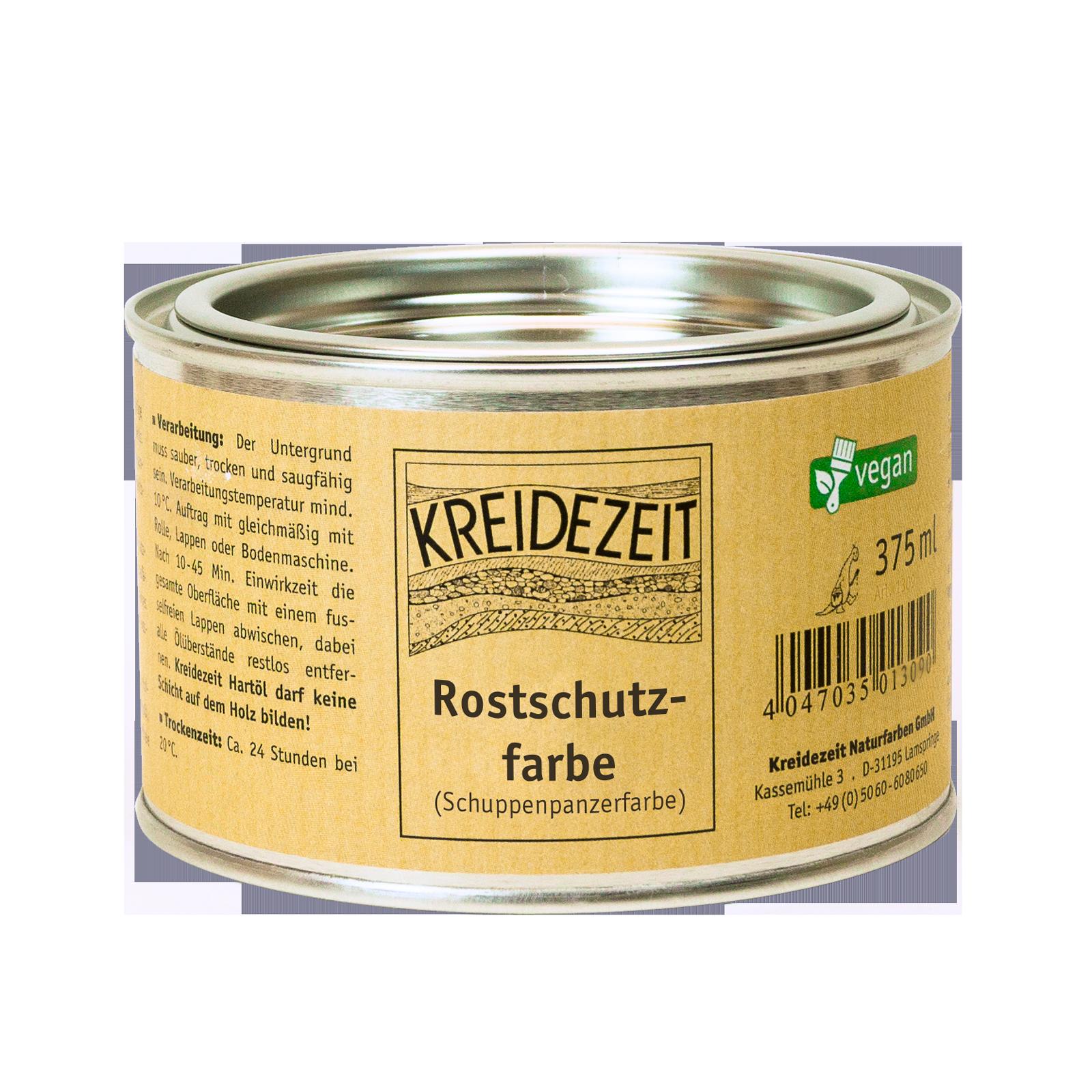 Außergewöhnlich Rostschutzfarbe - KREIDEZEIT Naturfarben GmbH @YB_91